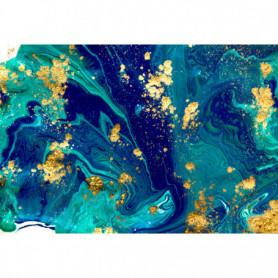 Marbre bleu abstrait