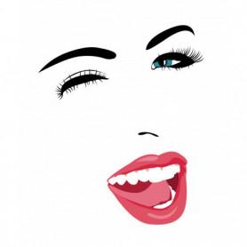 Wink Smile Women