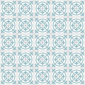 Motif Carreaux de Ciment Bleu Gris